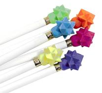 Geometric Star Eraser Top, Package of 576