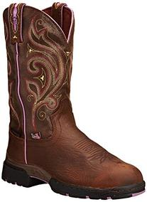 Justin Boots Women's George Strait Collection Riding Boot,
