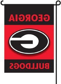 "Georgia Bulldogs 13"" x 17"" Two Sided Garden Flags - 1 Pair"