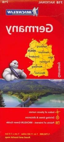 Michelin Germany Map 718