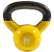 Premium Vinyl Dipped Kettle Bell With Introductory Training