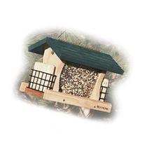 WoodLink GGRF3 Large Cedar Garden Feeder with Suet Cages