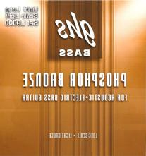 GHS Strings L9000 4-String Phosphor Bronze Acoustic Bass