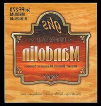 GHS Strings PF270 Bright Bronze Mandolin Strings, Medium