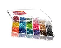 Giant Bead Box Kit 2300 Beads/Pkg-Pearl