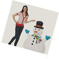 "Giant 52"" Inflatable Snowman"