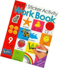 Giant Sticker Activity Work Book