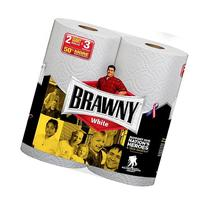 Brawny Giant Roll, White, Pick-A-Size, 24 Count