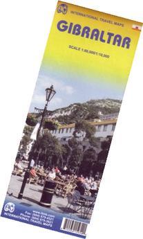 Gibraltar  1:10,000 Travel Map