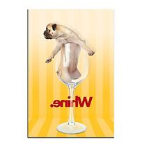 """Trademark Fine Art Gifty Idea Greeting Cards and Such, """"Pug"""