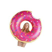 BigMouth Inc Gigantic Donut Pool Float, Strawberry Frosted