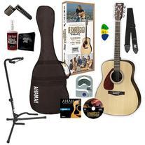 Yamaha Gigmaker Standard Acoustic Guitar w/ Gig Bag, Tuner,