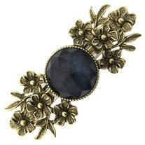 1928 Company Gilded Garden Blue Crystal Barrette