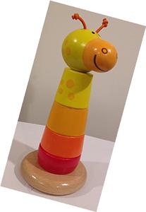 Hape Giraffe Stacker Baby Toy