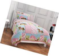 Girls, Pony, Country Horse Full Comforter, Sheets & Shams