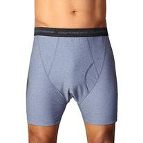 Exofficio Give-N-Go Boxer Briefs, Mens Underwear, Charcoal,