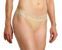 ExOfficio Women's Give-N-Go Lacy Lu Thong,Nude,X-Large