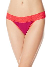 ExOfficio Women's Give-N-Go Lacy Thong  Glitz, Large