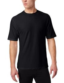 ExOfficio Men's Give-N-Go Tee,Black,Large
