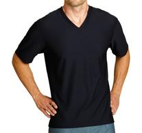 ExOfficio Men's Give-N-Go V-Neck Tee,White,Small