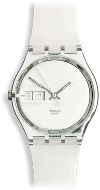 Swatch Women's GK733 White Plastic Watch