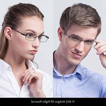 Archgon Fashion Computer Glasses Anti Blue Light Titanium