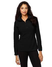 Columbia Women's Glacial Fleece III 1/2 Zip Jacket, Black,