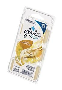 Glade Wax Melts, Pure Vanilla Joy, 6 Count