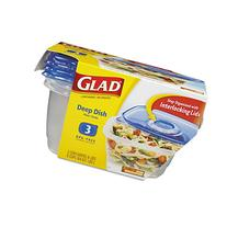6-Piece GladWare Deep Dish Food Container Set