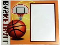Glass Basketball Themed Picture Frame