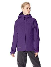 686 Women's GLCR Aura Jacket, Medium, Violet Diamond Dobby
