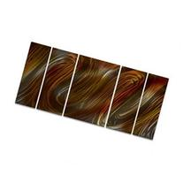 Glissade II Metal Wall Decor - Unique Modern Painting -