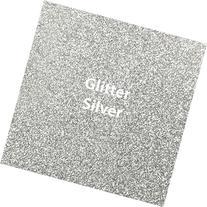 """Siser Glitter Heat Transfer Vinyl 20"""" x 12"""" Sheet"""