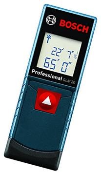 Bosch GLM 20 Compact Laser Measure with Backlit Display, 65