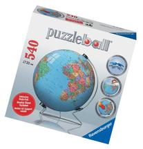 Globe 540 Piece 3D Puzzle Ball