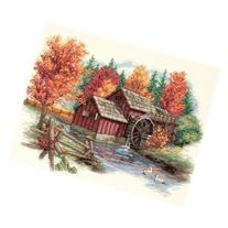 Dimensions Glory Of Autumn Counted Cross Stitch Kit: 14x11