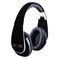 808 Gloss Black Headphones