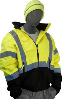 Majestic Glove 75-1313 PU Coated Polyester High Visibility