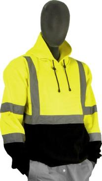 Majestic Glove 75-5327 High Visibility Sweatshirt with