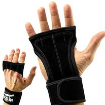 Gloves with Wrist Support for Gym Workout, Weightlifting,