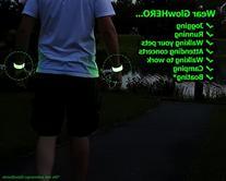 LED Slap Bracelet - Glow BAND by GlowHERO - Sweat Proof -