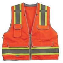 GloWear 8254HDZ Class 2 Heavy-Duty Surveyors Vest, Small/