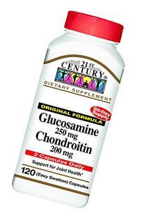 21st Century Glucosamine 250 mg and Chondroitin 200 mg