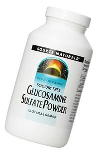 Source Naturals Glucosamine Sulfate Powder, The Nutritional