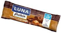 LUNA PROTEIN - Gluten Free Protein Bar - Chocoalte Salted