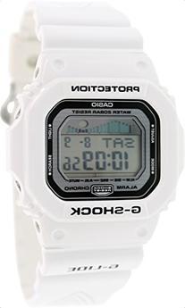 Casio Men's GLX5600-7 G-Shock G-Lide Surfing Watch - white