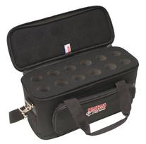 Gator Cases GM-12B Carry Bag with Foam Drops for Up to 12