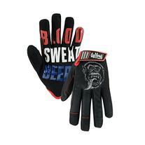 Gas Monkey Garage GM86605Blood Sweat N Beers, Large, Black