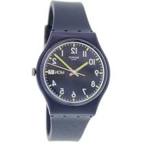Swatch Women's Originals GN718 Blue Rubber Swiss Quartz