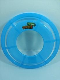 Go Flyer Glow In The Dark Blue Frisbee With Words Flying